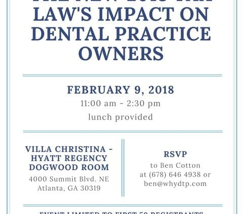 dental practice owner seminar
